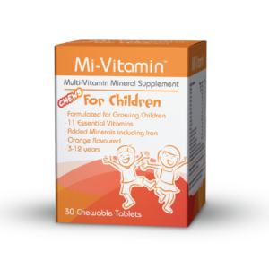 children's multivitamin with iron